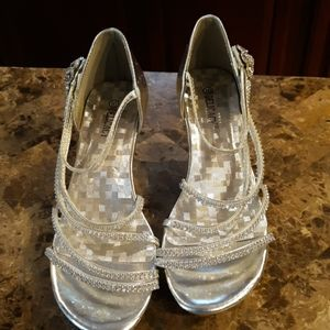 Silver Formal Shoes
